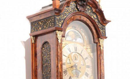 Rokokové nizozemské hodiny z roku 1770