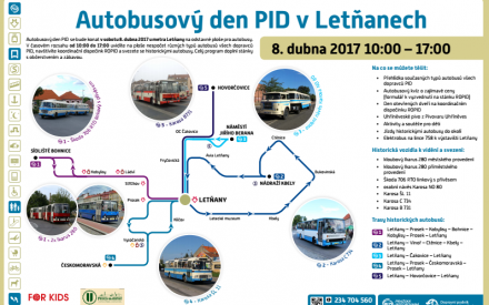 Autobusový den PID vLetňanech