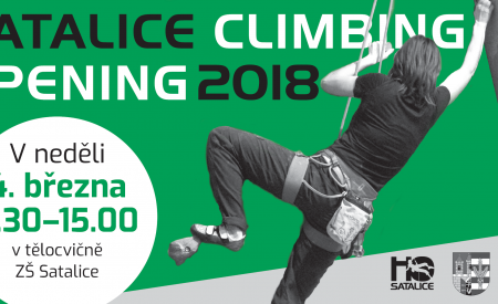 Satalice climbing opening 2018
