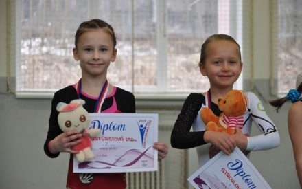 Medailové úspěchy gymnastek